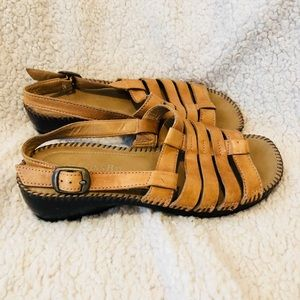 St Johns Bay leather sandals